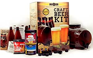 Mr. Beer Premium Gold Edition 2 Gallon Homebrewing Craft Beer Making Kit