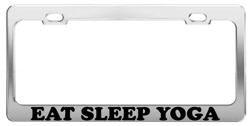 Customized License Plate Frame Humor Aluminum Metal License Plate Frame Auto Car US Standard 2 Holes Screws