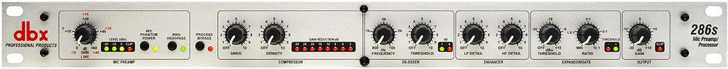 dbx 286s Microphone Preamp & Channel Strip Processor