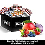 That's it Fruit Bars Snack Gift Box { 20 Pack }100% All Natural, Gluten-Free, Vegan, Low Carb Snacks - Healthy Fruit Snacks Bulk Variety Pack