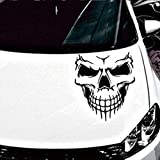 Software : Kstare Skull Skeleton Car Decal/Sticker (black)