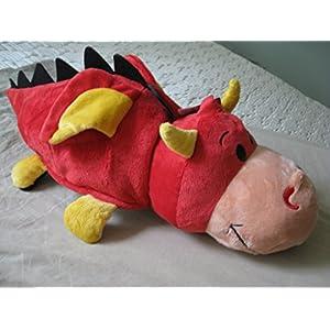 FlipaZoo 16 inch Panda/ Ember Dragon - 51ZtsyPgAtL - FlipaZoo 16 inch Panda/ Ember Dragon