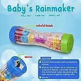 "Playkidz 8.5"" Rainmaker Rattle Toy for Babies"