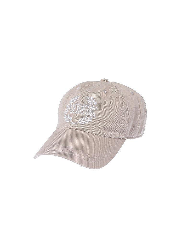 Amazon.com  Victoria s Secret Pink Baseball Hat Cap Adjustable Color Light  Beige Tan  Clothing 46a9c97828c