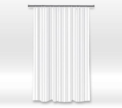 Vandarllin Hotel Quality Waterproof Washable Fabric Shower Curtain Liner With Metal GrommetsMildew Resistant
