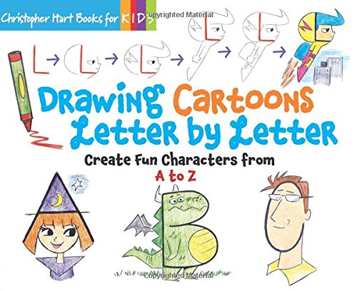 Drawing Cartoons Letter Create Characters product image