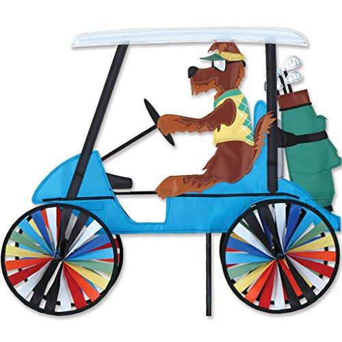 Premier Kites 23 In. Golf Cart Spinner - Dog ()