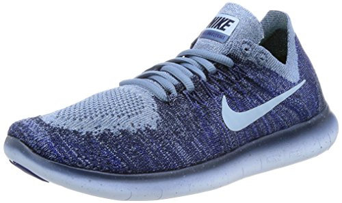 College Fog 2017 Blue Cirrus Ocean Navy Nike Training Shoes Women's Free Run Flyknit AvpPqU8