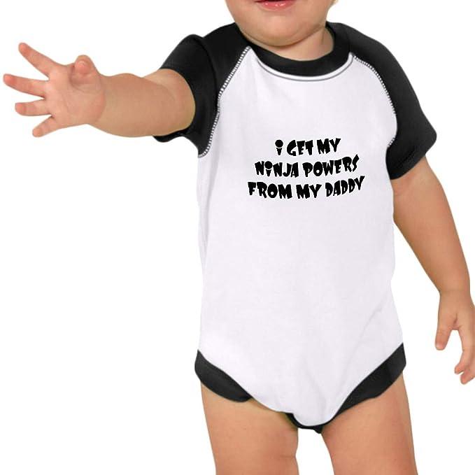 Amazon.com: I Get My Ninja Powers from My Daddy Cotton Baby ...