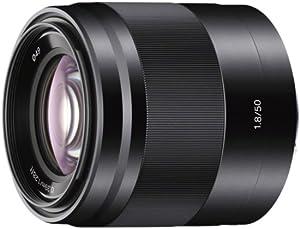Sony SEL50F18B - Objetivo para Sony (distancia focal fija 50mm, apertura f/1.8-22, estabilizador) negro