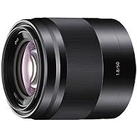 Sony SEL50F18  50mm f/1.8 Lens for Sony E Mount Nex Cameras (Black) - Fixed