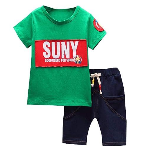 Amazon.com 💝💝Kids Boy Summer Clothing Sets