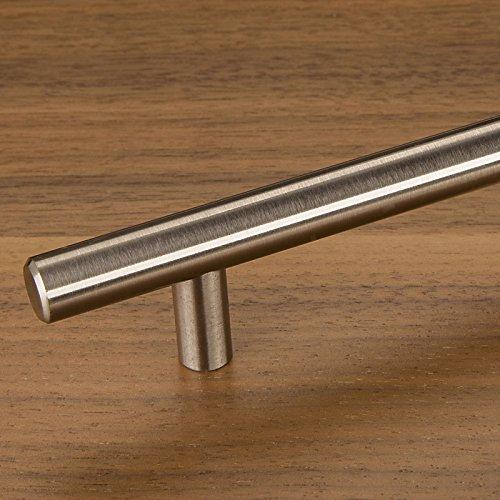SO-TECH® Relinggriff in Edelstahl Finish - 128mm Lochabstand / 188mm Länge