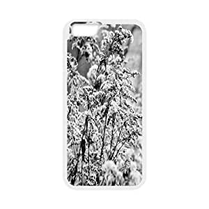 Iphone 6 Plus Case, bushes in winter Case for Iphone 6 Plus 5.5 screen White tcj570543 tomchasejerry
