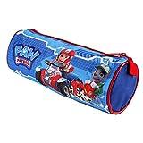 Paw Patrol Officially Licensed Disney Rocky Marshall Ryder Barrel Pencil Case 20Cm X 8Cm Blue