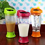 Glive's Automatic Battery Operated Self Stirring Mug , 350 ml Instant Chocolate Milk Mixer - Cup, Mixer, Blender, Shaker