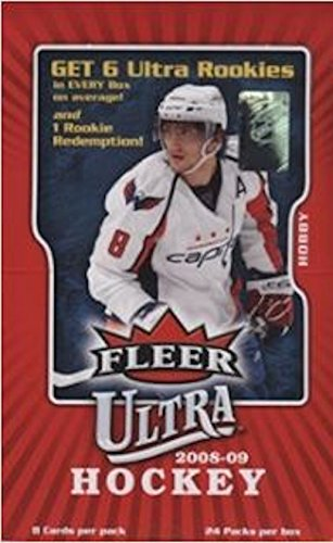 2008/09 Fleer Ultra NHL Hockey HOBBY box (Hobby Hockey Ultra Fleer Cards)