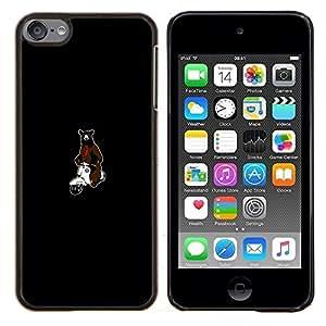 EJOOY---Cubierta de la caja de protección para la piel dura ** Apple iPod Touch 6 6th Touch6 ** --Tenga en la motocicleta