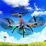 Safstar Syma X5HW FPV Drone 2.4GHz 4CH 6 Axis RC Headless Quadcopter UFO with HD Wifi Camera (Blue)