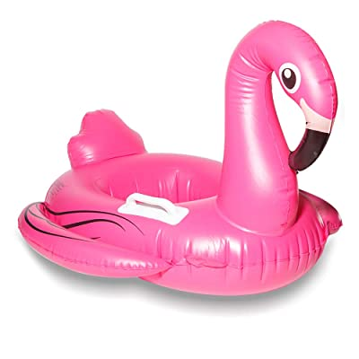 DMAR Pool Floats Flamingo Pool Float Inflatable Pool Raft Baby Infant Swim Boats Popular Swimming Toy Learn Swimming for Kids Toddler: Toys & Games