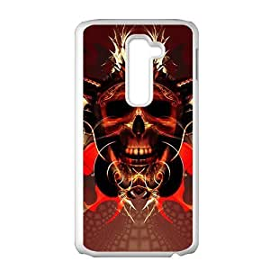 Brown king of the skull Phone Case for LG G2
