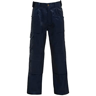 new style ca9b6 010ca Builders Joiners Plumbers Heavy Duty Canvas Work Pant Trouser Work Wear  Size Herrenmode