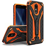 LG Stylo 3 Case, Zizo [Static Series] Shockproof [Military Grade Drop Tested] w/ Kickstand [Heavy Duty Case] Impact Resistant - LG Stylo 3 Plus