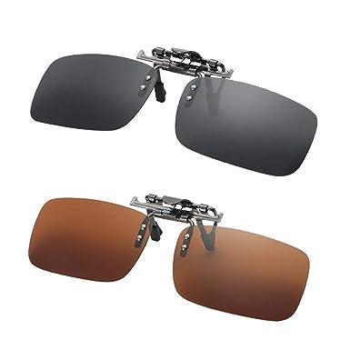 Amazon.com: Fityle - 2 gafas de sol polarizadas UV400 con ...