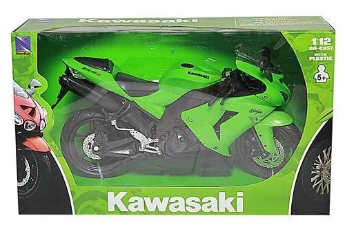 NewRay 1:12 Motorcycle 2006 Kawasaki Zx-10R- Sport Bike from NewRay