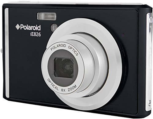Polaroid iE826 Digital Camera (Black) by Polaroid