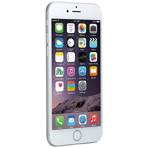 Apple iPhone 6, AT&T, 16GB - Silver (Renewed)
