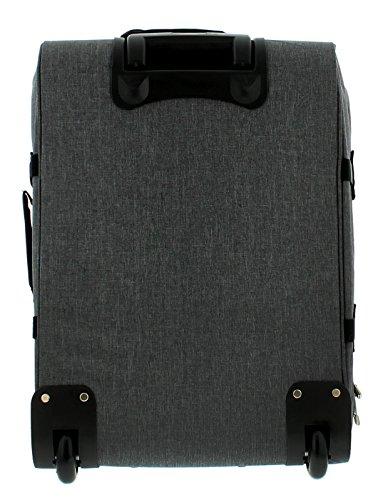 NEU unisex grau Kabinen Größe weich Karren Stil mit Räder - grau - UK Größen 1-1