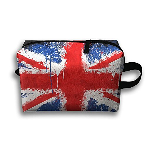 DTW1GjuY Lightweight And Waterproof Multifunction Storage Luggage Bag England Flag Abstract by DTW1GjuY (Image #2)