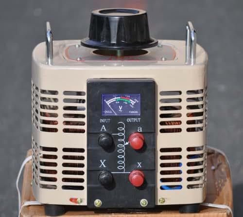 Volteq Variable Transformer Variac 5000VA 0-250V 110V AC
