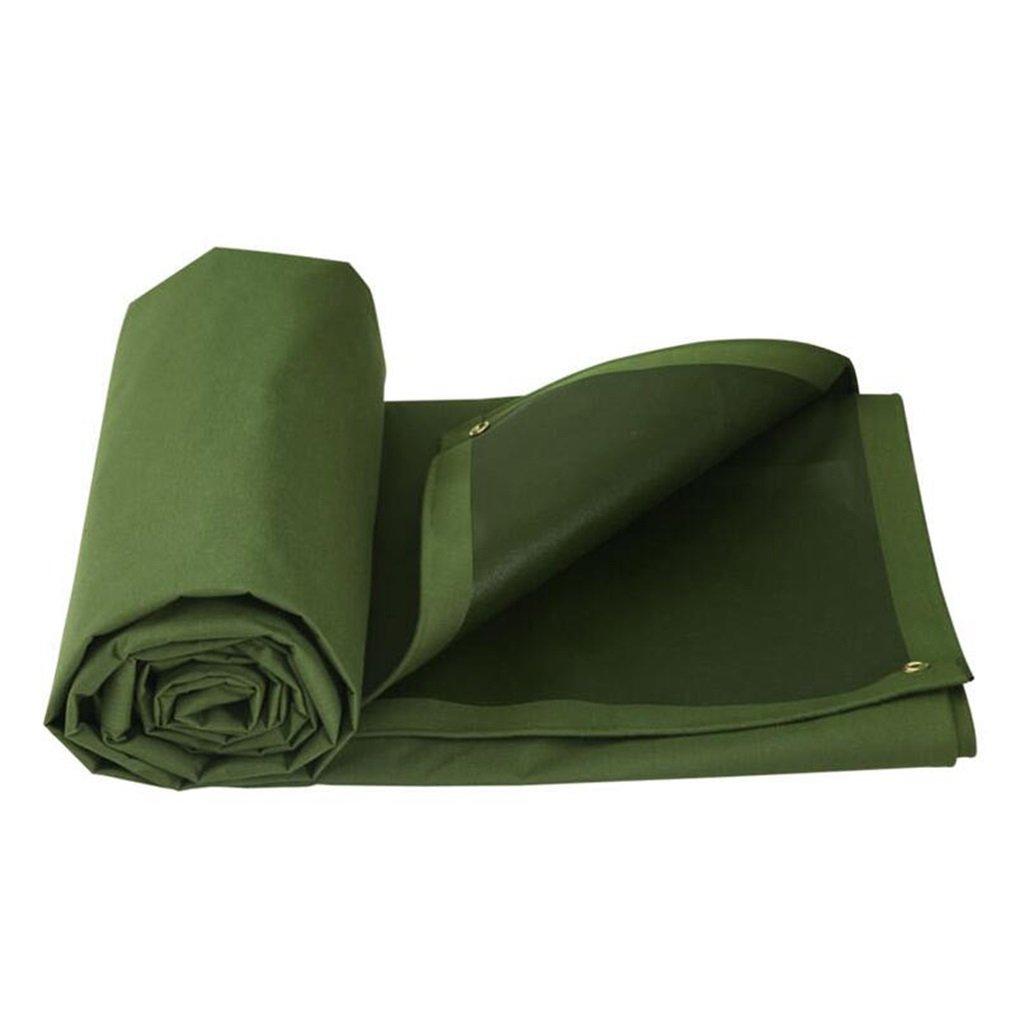 YX-Planen Mehrzweck Plane Plane Wasserdichte schwere Boden Zelt Anhänger Abdeckung Plane Blatt mit Ösen und verstärkte Kanten grün Schutzplane (größe   2mx2m)