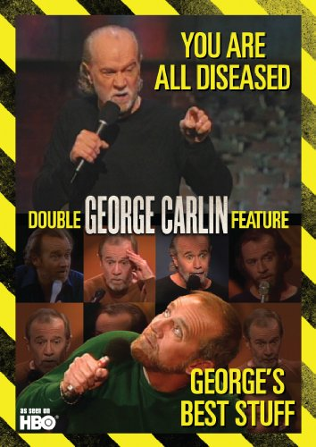 George Carlin Double Feature: George's Best Stuff / You Are All Diseased (Best Of George Best)