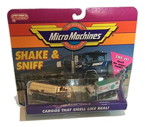 Micro Machines Shake & Sniff Collection - Highway Set Transport