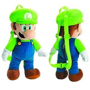 Super Mario Bros Luigi Plush Mochila