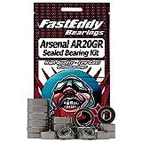 Shakespeare Arsenal AR20GR Spinning Reel Rubber Sealed Ball Bearing Kit for RC Cars