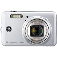 GE 1255W-SL 12MP Digital Camera with 5X Optical Zoom and 3.0-Inch LCD Screen with Auto Brightness (Silver) Basic Intro Review Image