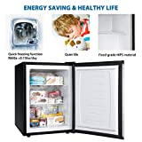 Euhomy Upright freezer, 2.1 Cubic Feet,Compact