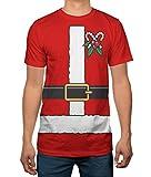 Hybrid Apparel Christmas Costume Adult T-shirt - 4 Styles - Elf, Santa, Ugly Sweater, Gingerbread