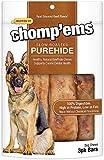 Ruffin' It Purehide Bars Healthy Natural Rawhide, 6.35 Oz