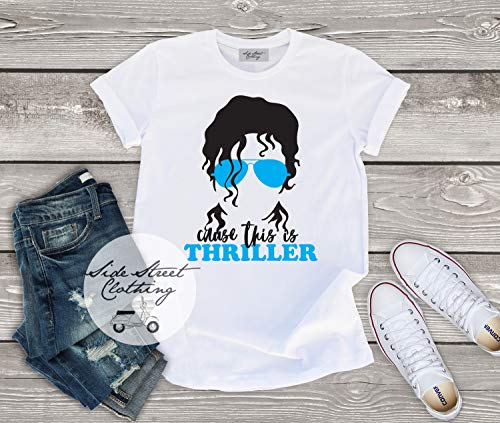 Michael Jackson inspired T shirt - baby, toddler, youth, women, men, folk rock, music festival, rock concert, music fan, Thriller