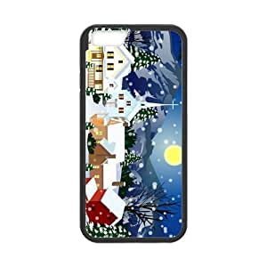 diy zhengCute Merry Christmas Tree with lights Snap on Case Cover for Personalized Case for iPhone 6 Plus Case 5.5 Inch (Laser Technology) Case Screen iPhone -05