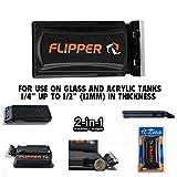 FL!PPER Flipper Cleaner - 2-in-1 Magnetic Aquarium