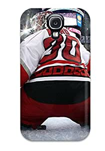 First-class Case Cover For Galaxy S4 Dual Protection Cover New Jersey Devils (42)