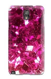 New Arrival BArgNqx7017NtCjF Premium Galaxy Note 3 Case(glittery Pink )