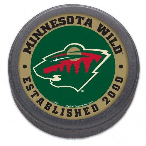 NHL Minnesota Wild 77432011 Hockey Puck