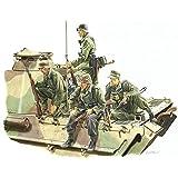 プラッツ 1/35 第二次世界大戦 ドイツ軍 戦車跨乗兵セット ロレーヌ 1944 プラモデル DR6156